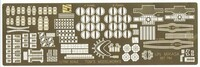 IJN Mikasa Battleship Detail Set for HSG 1/700 Toms Modelworks