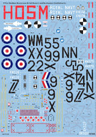 Blackburn Buccaneer S Mk II British Research & Development Establishments 1/72 Warbird Decals