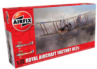 Factory BE2C Scout Recon RAF Biplane 1/72 Airfix