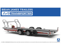 Brian James A4 Auto Transport Trailer 1/24 Aoshima