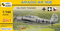 Arado Ar96B/Avia C2 Military Trainer German/Czech/Hungarian AF Aircraft (2 Kits) 1/144 MARK I Models
