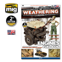 The Weathering Magazine, Issue 4: Engines, Grease and Oil AMMO of Mig Jimenez
