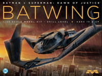 Batman vs Superman Dawn of Justice: Batwing w/Interior 1/25 Moebius