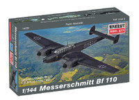 Messerschmitt Bf110 Fighter 1/144 Minicraft