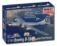 B-29A Superfortress Aircraft 1/144 Minicraft