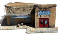 "Shorted Out in Iraq Ruined Building w/Sidewalks & Rubble (9""x13"") 1/35 Dioramas Plus"