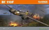 Bf 110F Fighter (Profi-Pack Plastic Kit) 1/48 Eduard