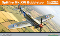 Spitfire Mk XVI Bubbletop Fighter (Profi-Pack Plastic Kit) 1/72 Eduard
