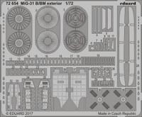 MiG31B/BM for TSM 1/72 Eduard