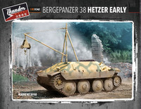 Bergepanzer 38 Hetzer Early Recovery Vehicle 1/35 Thunder Model