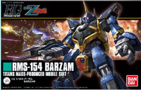 HG Universal Century Series: RMS-154 Barzam Titans Mass Produced Mobile Suit 1/144 Bandai