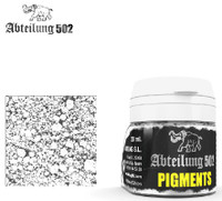 Weathering Pigment Ashes White 20ml Bottle Abteilung 502