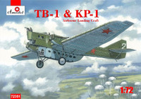 TB1/KP1 Soviet Airborne Landing Craft 1/72 A-Model