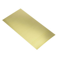 ".064""x6""x12"" Brass Sheet K&S Engineering"