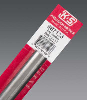 "1/2""x12"" Round Stainless Steel Tube .025 Wall K&S Engineering"