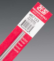 "3/32""x12"" Round Stainless Steel Rod (2) K&S Engineering"