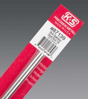 "1/4""x12"" Round Stainless Steel Rod K&S Engineering"