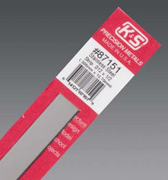 ".012""x1/2""x12"" Stainless Steel Strip K&S Engineering"