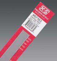 ".025""x1/2""x12"" Stainless Steel Strip K&S Engineering"
