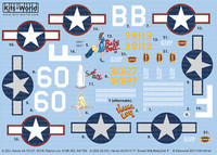A-20J Havoc 60*B Mama Lou 410th BG 647 BS, A20G-25-DO F Sweet Milk/Baby Doll II 386th BS 312th BG 1/48 Warbird Decals
