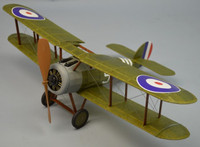 "18"" Wingspan Sopwith Snipe Rubber Pwd Aircraft Laser Cut Kit Dumas"