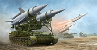 Soviet 2K11A TEL w/9M8M Missile Krug-A (SA4 Ganef) 1/35 Trumpeter