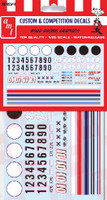 Road Racing Graphics Decals 1/25 AMT Models