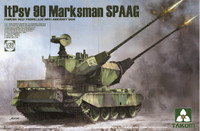 Finnish ItPsv90 Marksman Self-Propelled Anti-Aircraft Gun 1/35 Takom