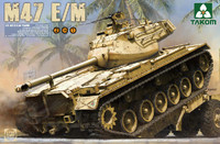 US M47E/M Patton Medium Tank (2 in 1) 1/35 Takom