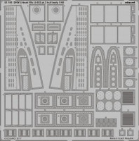 DKM Type VIIC U552 U-Boat Hull Body Pt.3 for TSM 1/48 Eduard