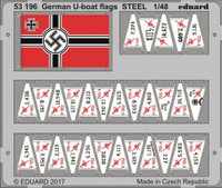 Ship- German U-Boat Flags (Painted) 1/48 Eduard