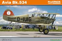 Avia Bk534 Aircraft (Prof-Pack Plastic Kit) 1/72 Eduard
