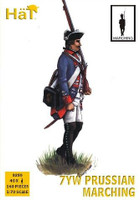 7 Years War Prussian Infantry Marching (40) 1/72 Hat