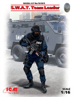 SWAT Team Leader 1/16 ICM Models