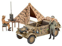 German Type 82 Kuebelwagen w/Tent & 2 Figures 1/35 Revell Germany