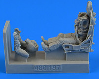 USAF F100C/D Fighter Pilot w/Ejection Seat 1/48 Aerobonus