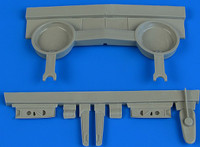 P-40B Warhawk Wheel Bay For ARX (Resin) 1/48 Aires