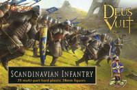Deus Vult Scandinavian Infantry (25) 28mm Fireforge Games