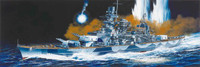 German Scharnhorst Battleship 1943 1/350 Dragon Models