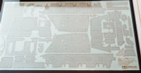 Brummbar Late Production Zimmerit Coating Sheet 1/35 Tamiya Models