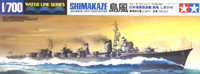 IJN Shimakaze Destroyer Waterline 1/700 Tamiya Models