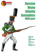 Russian Heavy Infantry Grenadiers 1805 (16) 1/32 Mars Figures