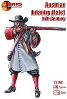 XVII Century (Late) Austrian Infantry (48) 1/72 Mars Figures