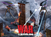 War of the Worlds: Tripod's Attack Diorama 1/350 Pegasus Hobbies