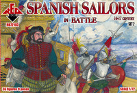 Spanish Sailors in Battle XVI-XVII Century (36) 1/72 Red Box Figures