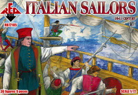 Italian Sailors XVI-XVII Century Set #1 (36) 1/72 Red Box Figures