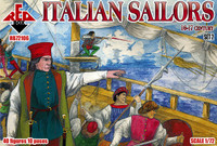 Italian Sailors XVI-XVII Century Set #2 (40) 1/72 Red Box Figures
