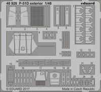 P-51D Exterior for MGK 1/48 Eduard