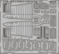 SB2C-5 Helldiver Undercarriage for SHY 1/72 Eduard