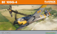 Bf 109G-4 German Fighter (Profi-Pack Plastic Kit) 1/48 Eduard